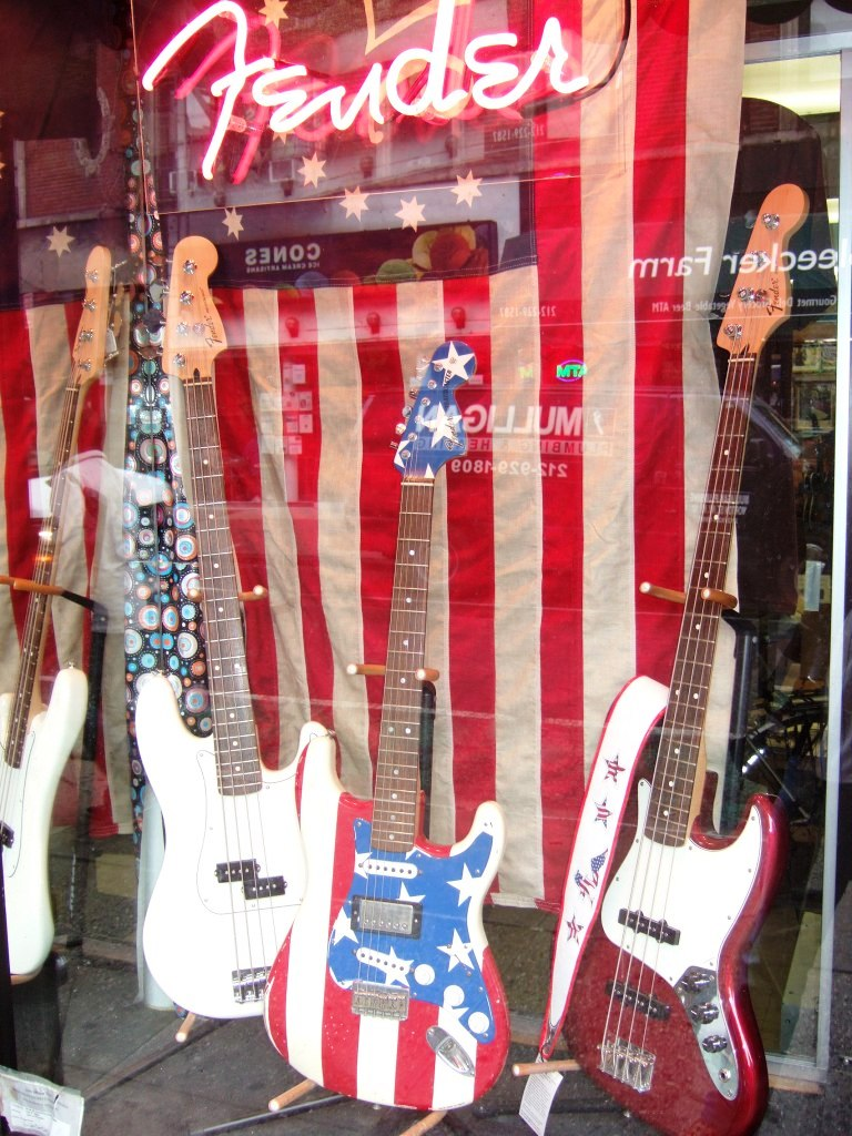 Aus den USA: Rock'n'Roll, Internet, Fender - alles nur kurzfristige Hypes!