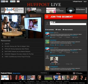 HuffPost Live Web Video News Channel