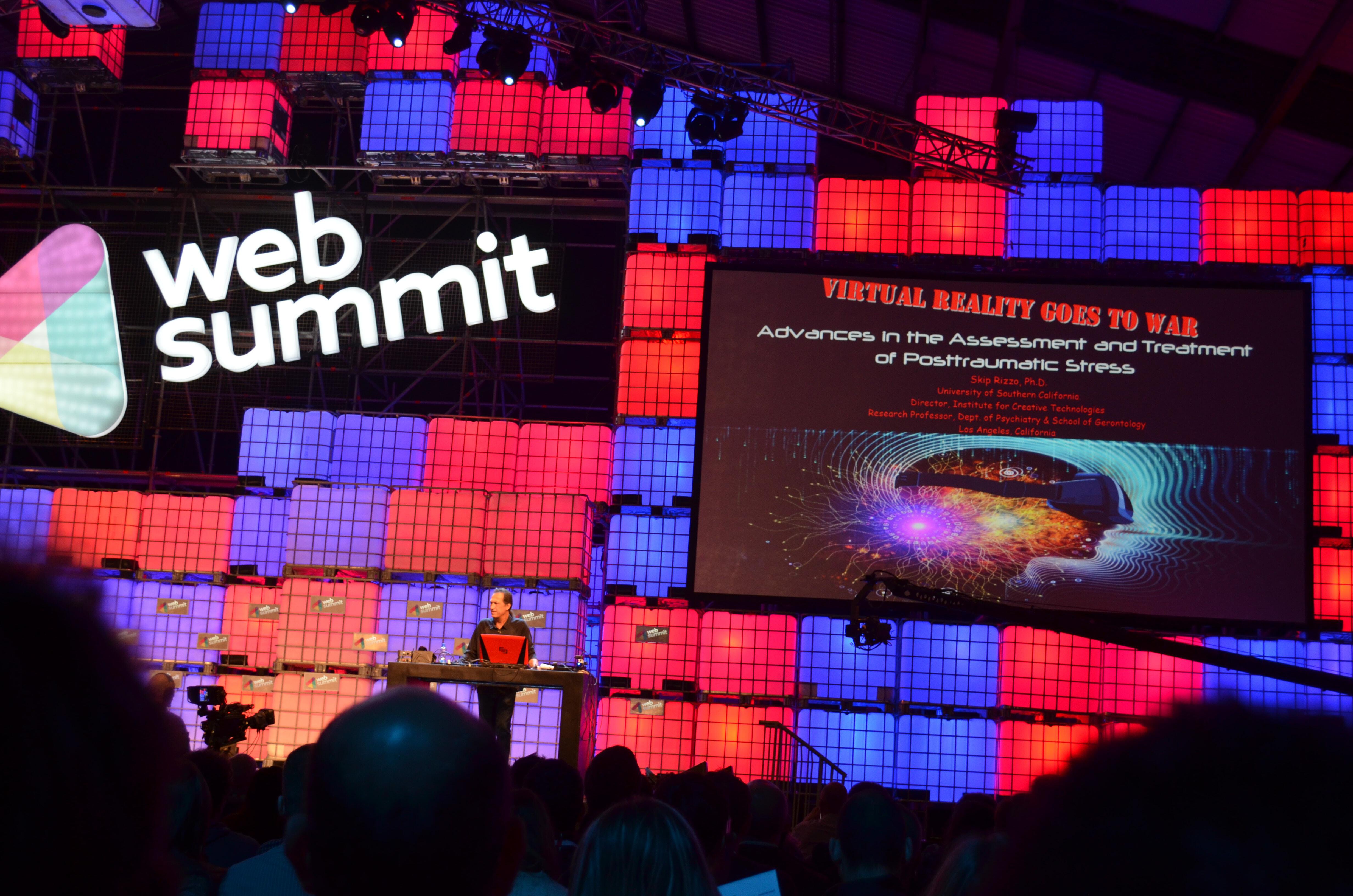 Bunt, Laut Und Wahnsinnig Spannend: Dublin Web Summit 2015