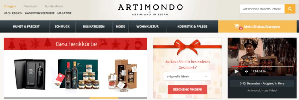 Artimondo Shop