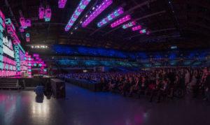 Die imposante Kulisse in der MEO Arena