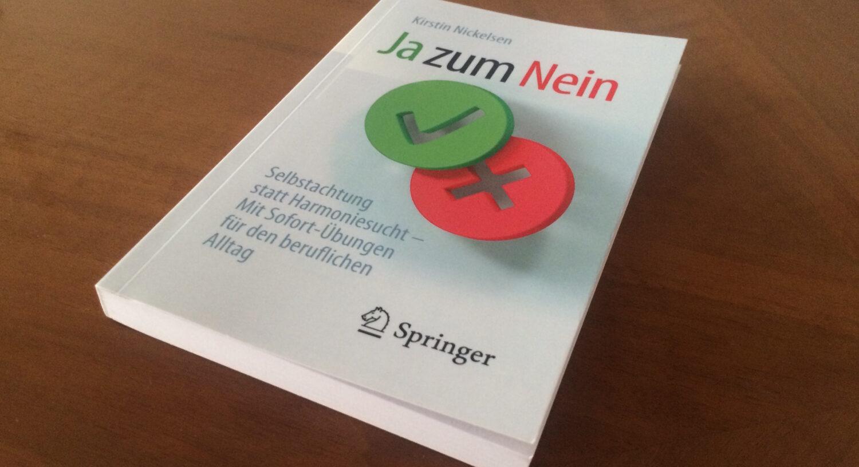 """""""Nein"""" Ist Eine Klare Aussage – """"Ja Zum Nein"""" Ist Ein Hilfreiches Buch"""