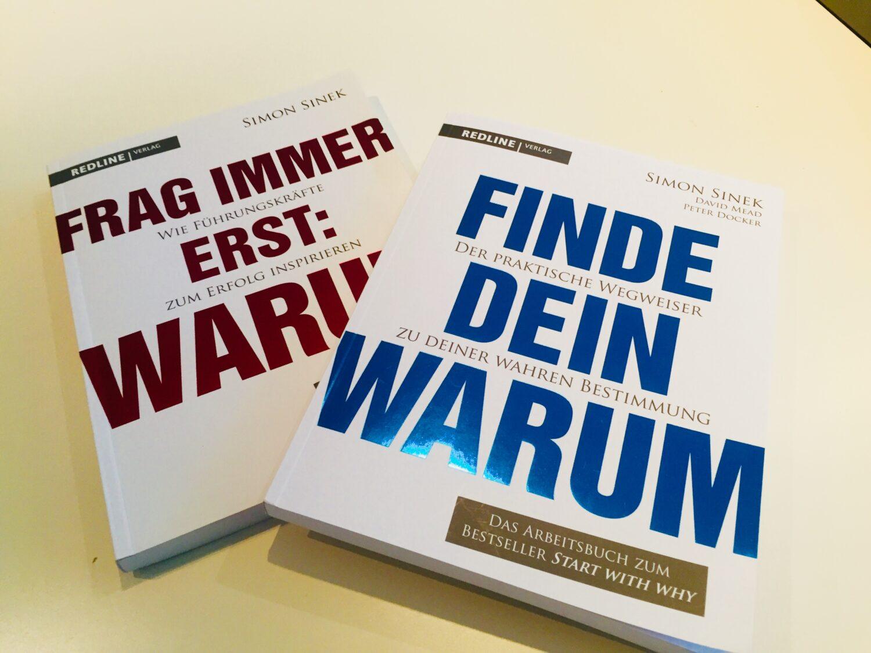 Foto Der Beiden Bücher Von Simon Sinek Zum Thema