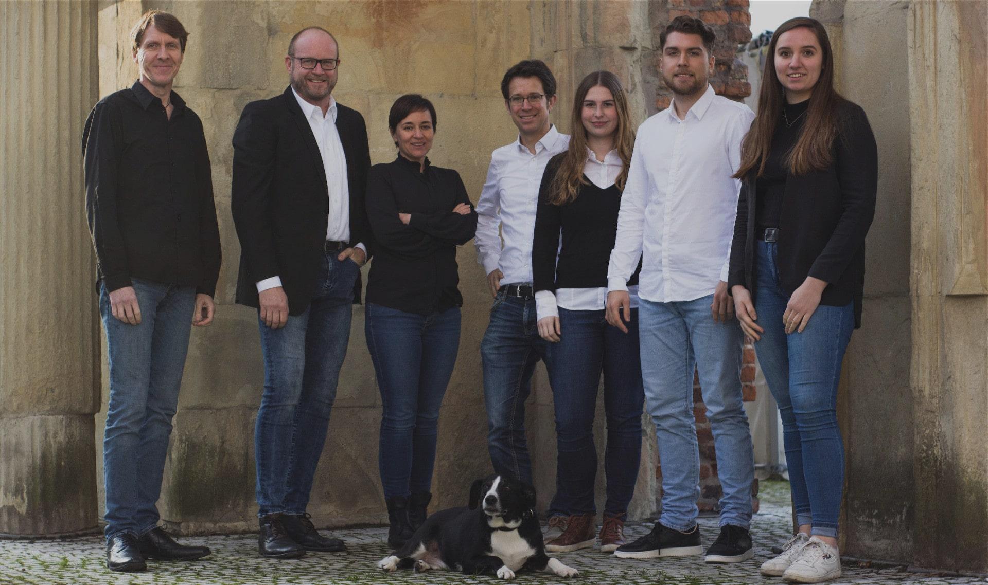 Team der Agentur pr://ip Primus Inter Pares PR, Content Marketing und Inbound Marketing aus Münster