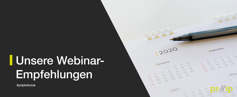 Agilität, B2B Sales Und New Work: Unsere Webinar-Empfehlungen Für Den 18. Bis 22. Mai 2020