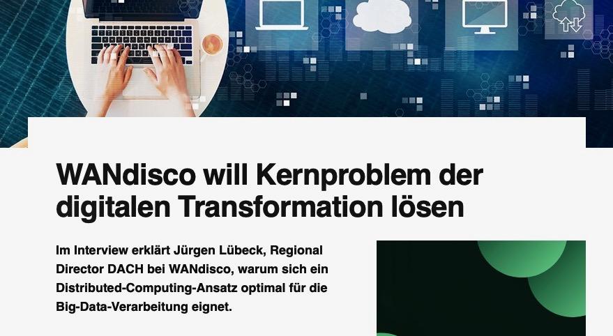 WANdisco Will Kernproblem Der Digitalen Transformation Lösen