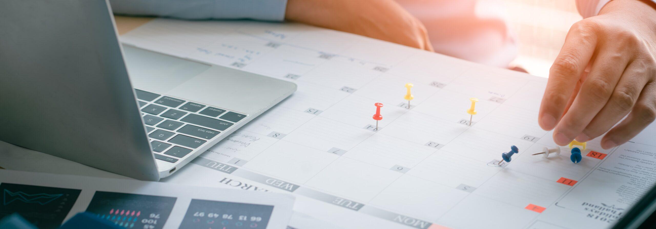 Ein Redaktionsplan ist eine sinnvolle Ergänzung des Influencervertrags