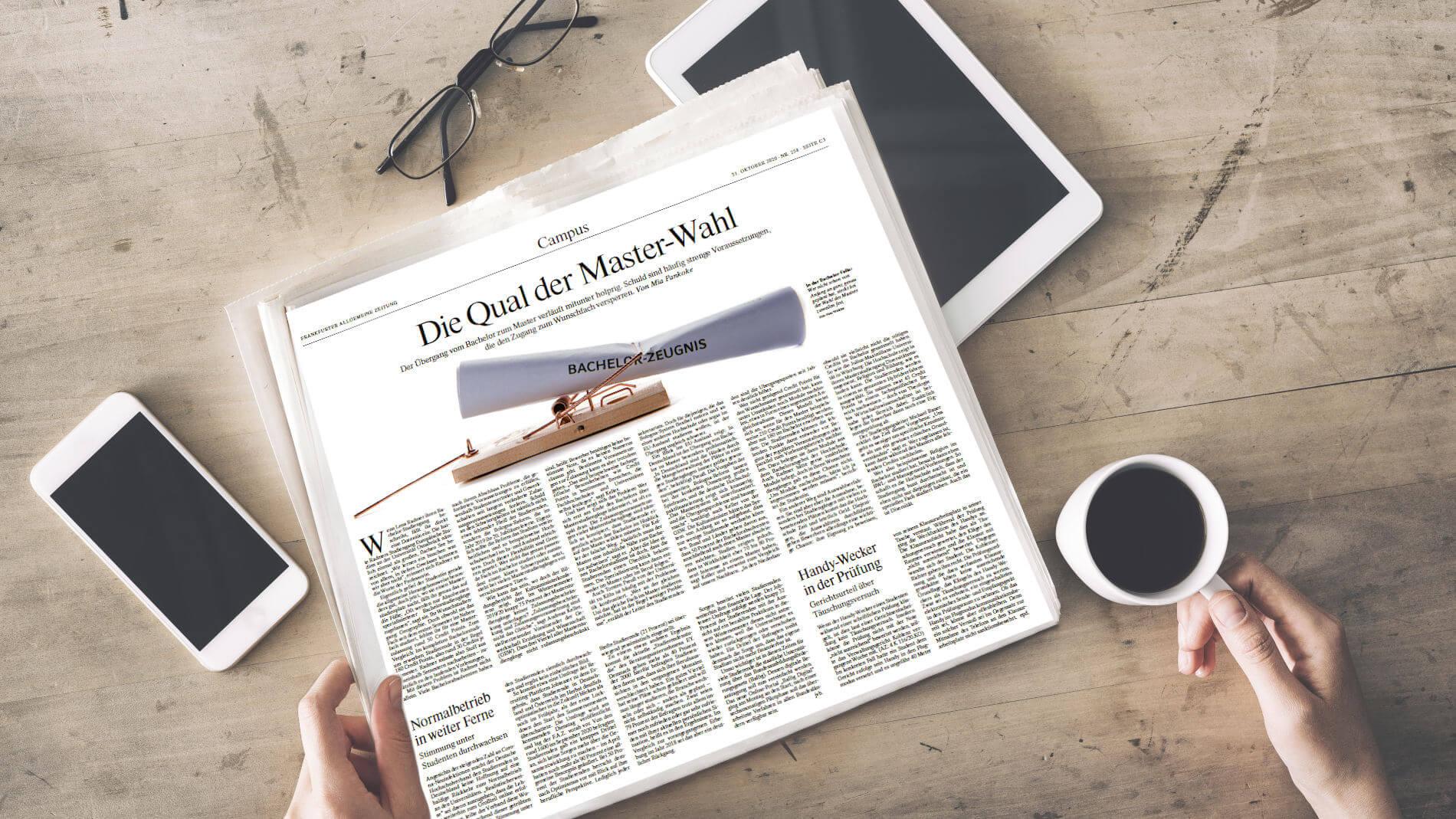 Artikel über JobTeaser In Der FAZ